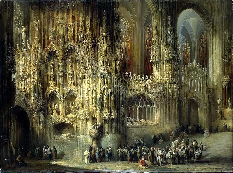 Перес де Вильямиль, Хенаро - Интерьер собора Сан-Мигель в г. Херес. Эрмитаж ~ часть 9