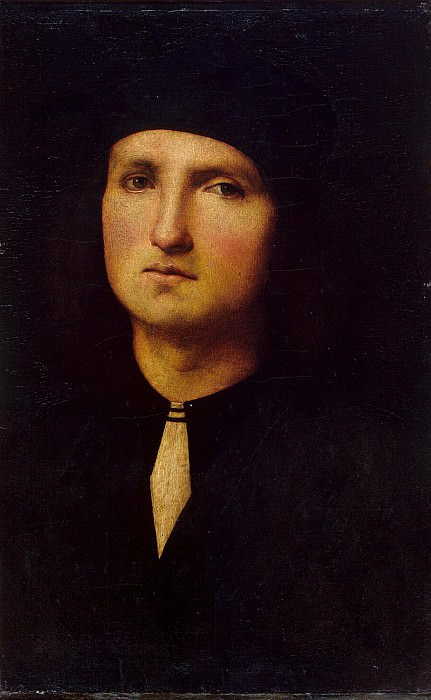 Perugino, Pietro - Portrait of a young man. Hermitage ~ part 09