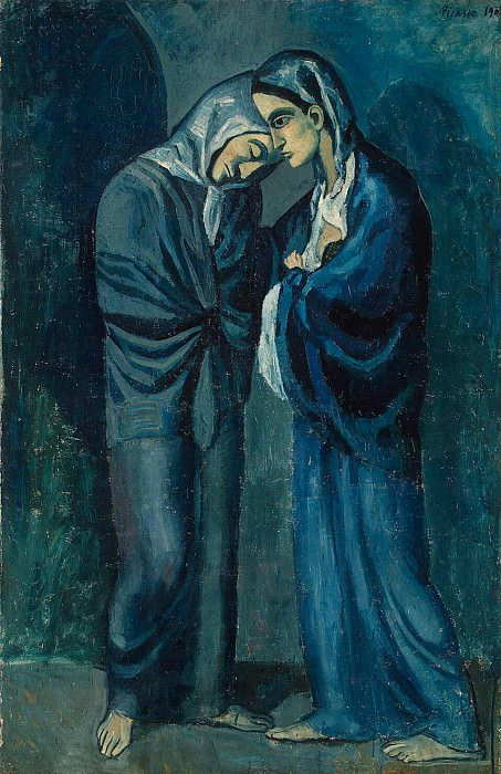 Picasso, Pablo - Two Sisters. Hermitage ~ part 09