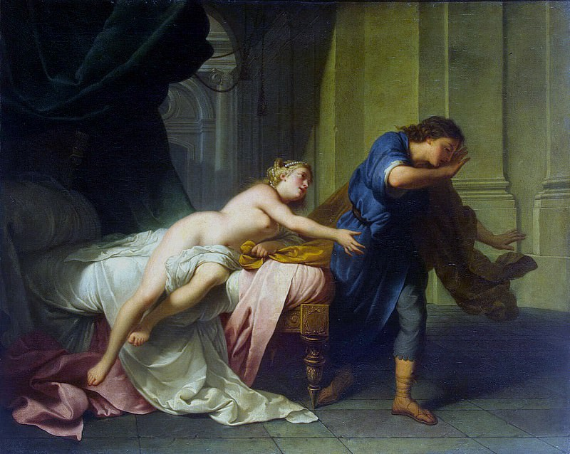 Nattier, Jean-Baptiste - Joseph and Potiphars wife. Hermitage ~ part 09