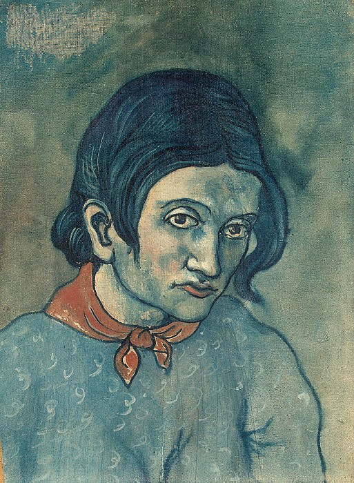 Picasso, Pablo - Head of a Woman. Hermitage ~ part 09