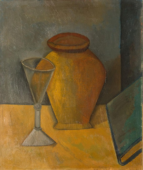 Picasso, Pablo - pot, a glass and a book. Hermitage ~ part 09