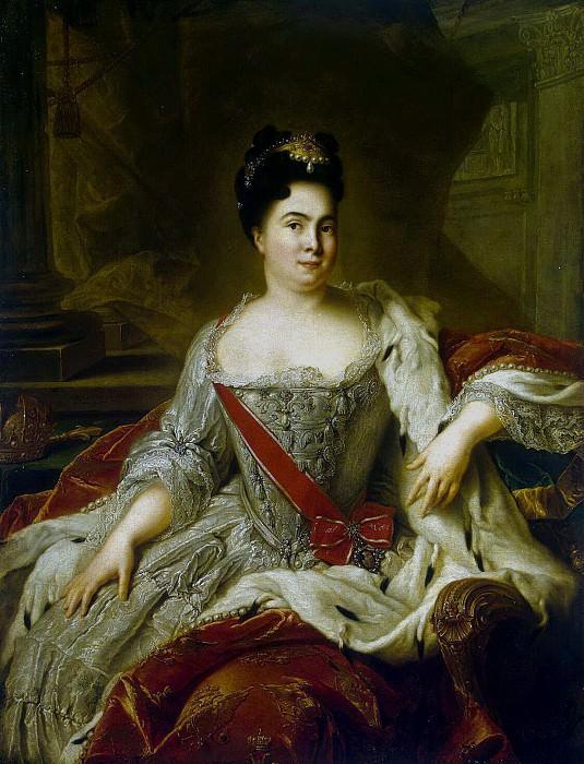 Nattier, Jean-Marc - Portrait of Catherine I. Hermitage ~ part 09