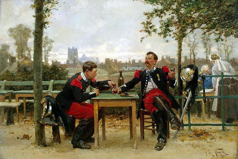 Neuville, Alphonse Marie De - Refreshments Chief. Hermitage ~ part 09
