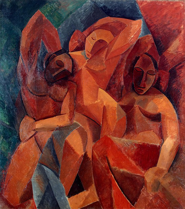 Пикассо, Пабло - Три женщины. Эрмитаж ~ часть 9