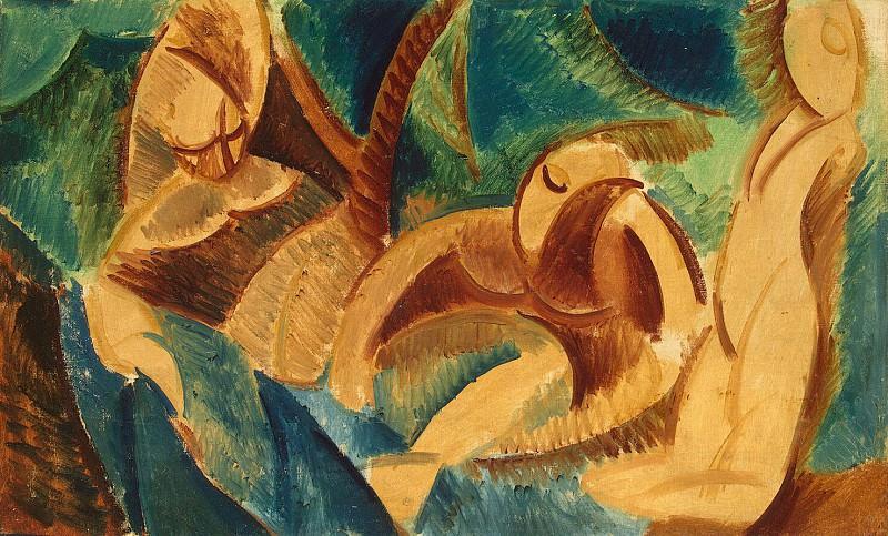 Пикассо, Пабло - Купание. Эрмитаж ~ часть 9