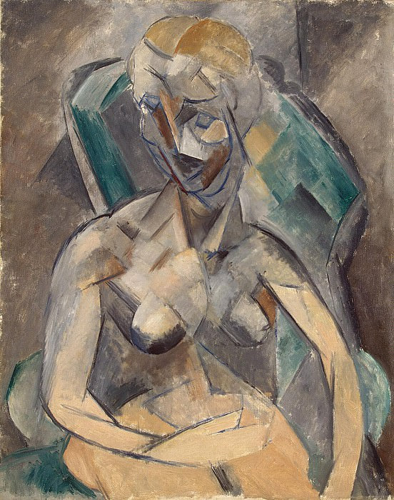 Picasso, Pablo - Young lady. Hermitage ~ part 09