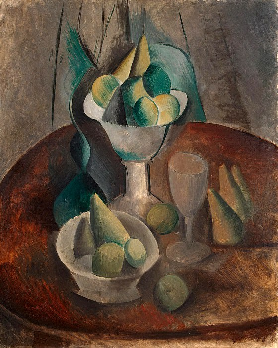 Picasso, Pablo - Vase with Fruit. Hermitage ~ part 09
