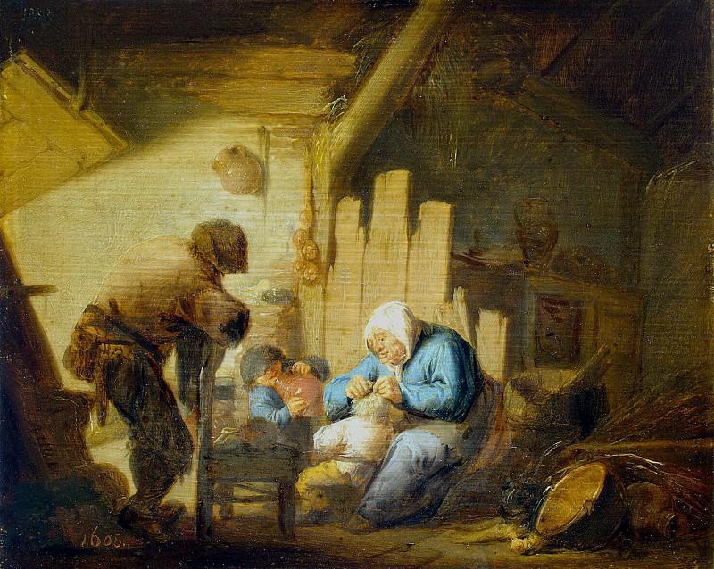 Ostade, Adriaen van - Vision. Hermitage ~ part 09