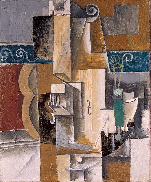 Picasso, Pablo - Guitar and Violin. Hermitage ~ part 09