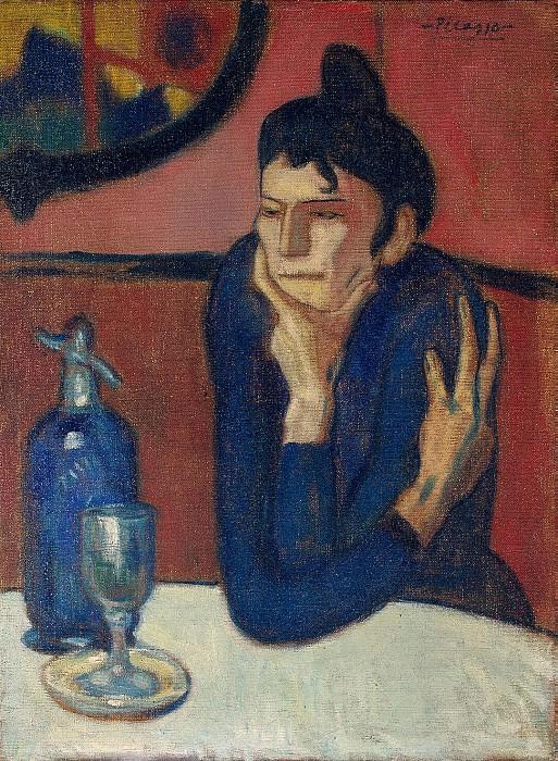 Пикассо, Пабло - Любительница абсента. Эрмитаж ~ часть 9