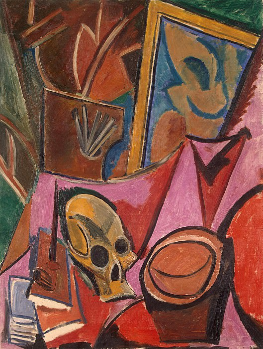 Picasso, Pablo - Composition with skull. Hermitage ~ part 09