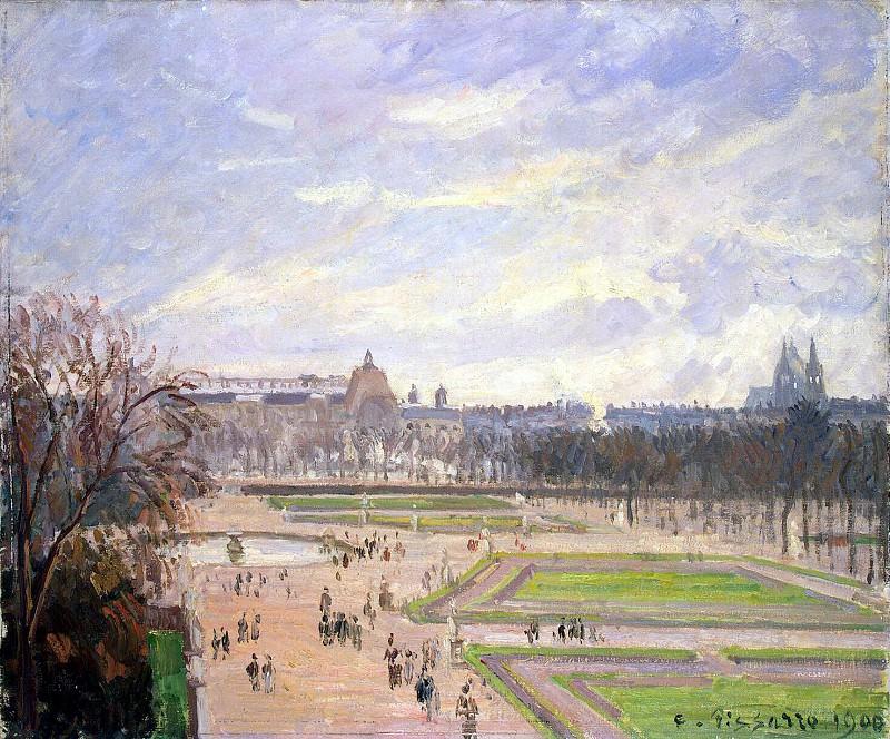 Pissarro, Camille - Tuileries gardens. Hermitage ~ part 09