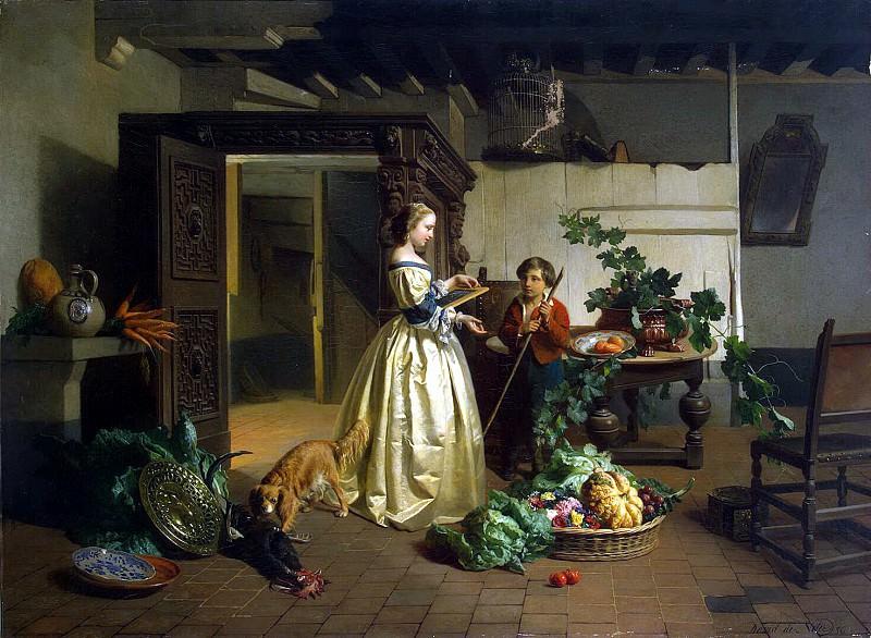 Noter, David Emil Joseph De - in the kitchen. Hermitage ~ part 09