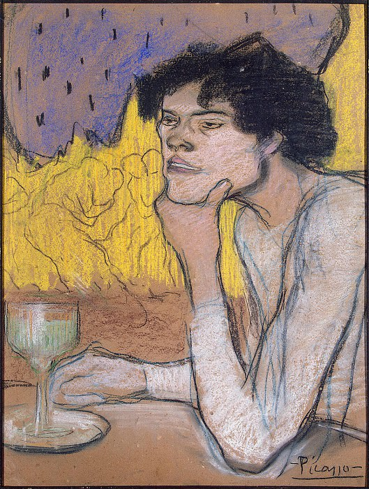 Picasso, Pablo - Absinthe. Hermitage ~ part 09