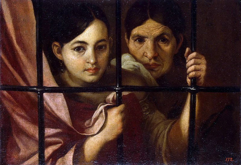 Murillo, Bartolome Esteban - Women Behind Bars. Hermitage ~ part 09