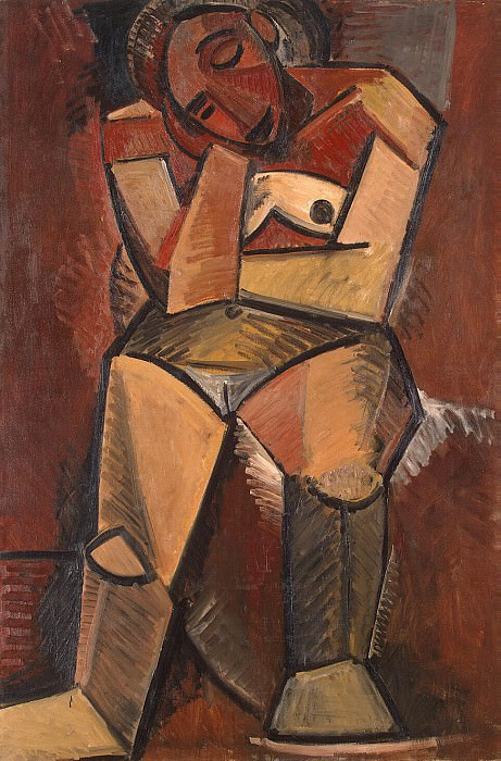 Picasso, Pablo - Seated Woman. Hermitage ~ part 09