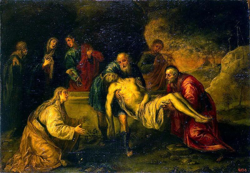 Pereda, Antonio - The Entombment. Hermitage ~ part 09