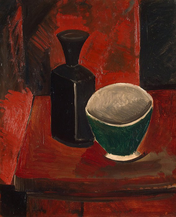 Picasso, Pablo - Green Bowl and Black Bottle. Hermitage ~ part 09