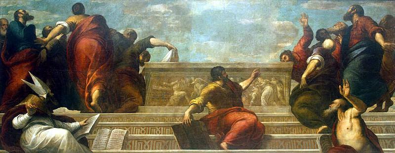 Пальма Младший, Якопо - Апостолы у гроба Девы Марии. Эрмитаж ~ часть 9