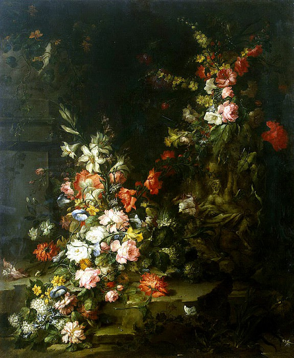 Peirano, Genovese - Flowers and vase. Hermitage ~ part 09