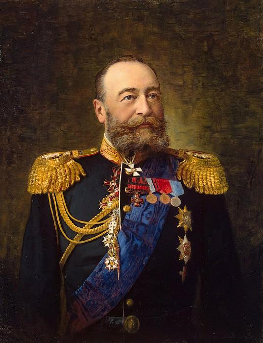 Pershakov, Aleksandr Fyodorovich - Portrait of Admiral EI Alekseeva. Hermitage ~ part 09