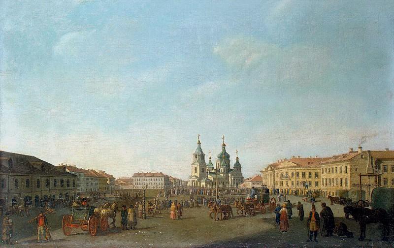 Paterssen, Benjamin - View of the Haymarket Square in St. Petersburg. Hermitage ~ part 09