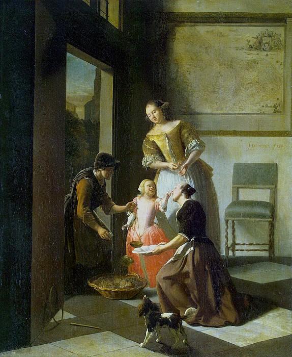 Ohtervelt, Jacob Lucas - Buying wine. Hermitage ~ part 09