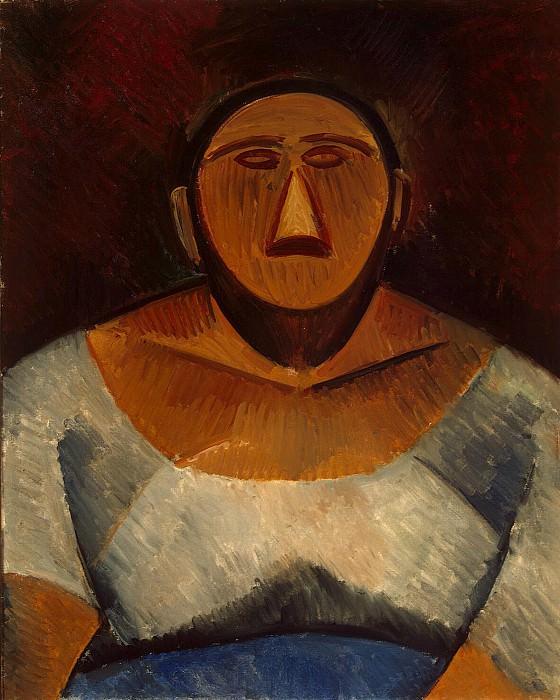 Пикассо, Пабло - Фермерша. Эрмитаж ~ часть 9