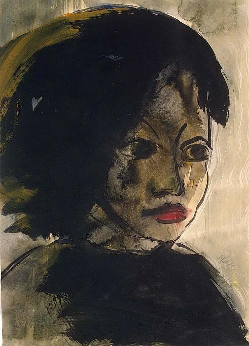 Nolde, Emil - head girl. Hermitage ~ part 09