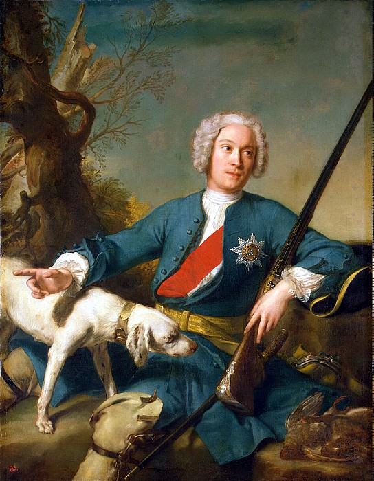 Nattier, Jean-Marc - Portrait of Prince Alexander Borisovich Kurakina. Hermitage ~ part 09