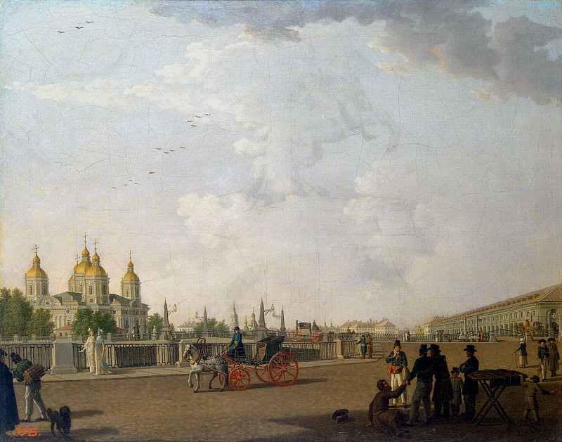Paterssen, Benjamin - View of St. Nicholas Cathedral. Hermitage ~ part 09