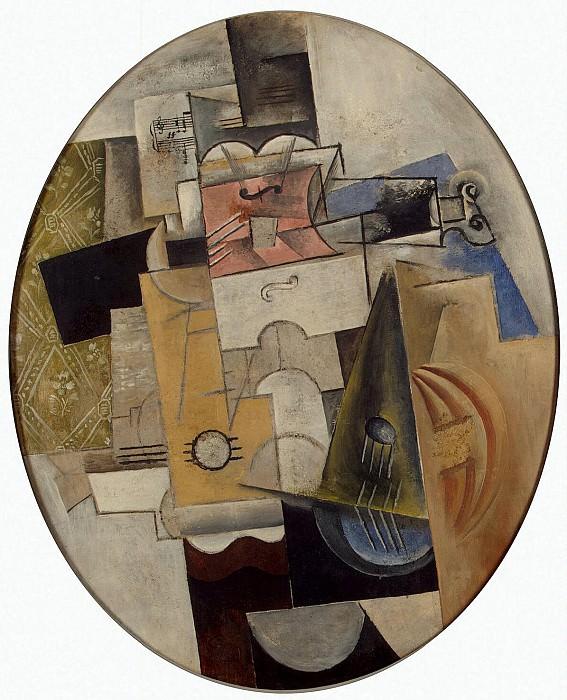 Пикассо, Пабло - Музыкальные инструменты. Эрмитаж ~ часть 9