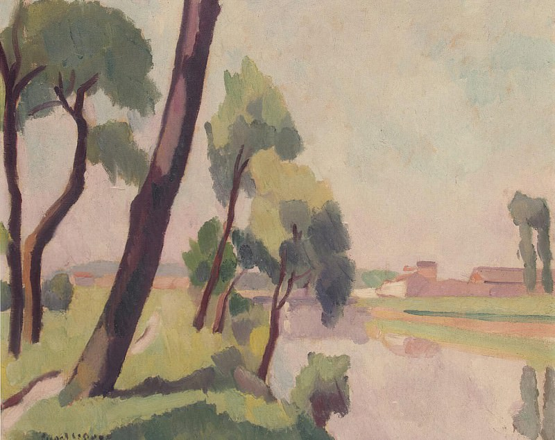 Picard Le Doux, Charles Rene - Landscape at Saint-Denis. Hermitage ~ part 09