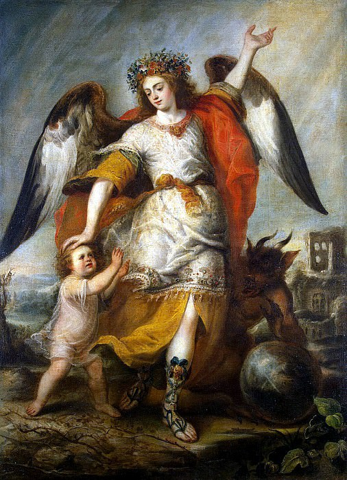 Pereda, Antonio de - Guardian Angel. Hermitage ~ part 09