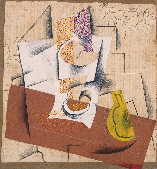 Picasso, Pablo - Composition with cut pear. Hermitage ~ part 09