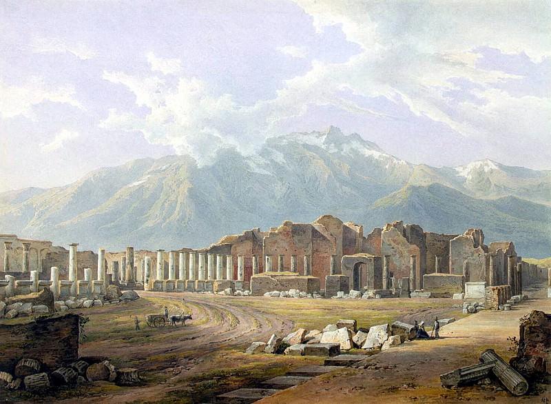 Muller Rudolf - Ruins of Pompeii. Hermitage ~ part 09