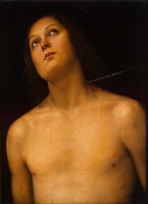Perugino, Pietro - St. Sebastyan. Hermitage ~ part 09