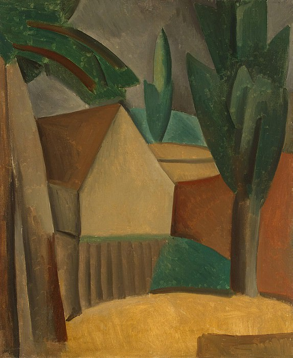 Пикассо, Пабло - Домик в саду. Эрмитаж ~ часть 9