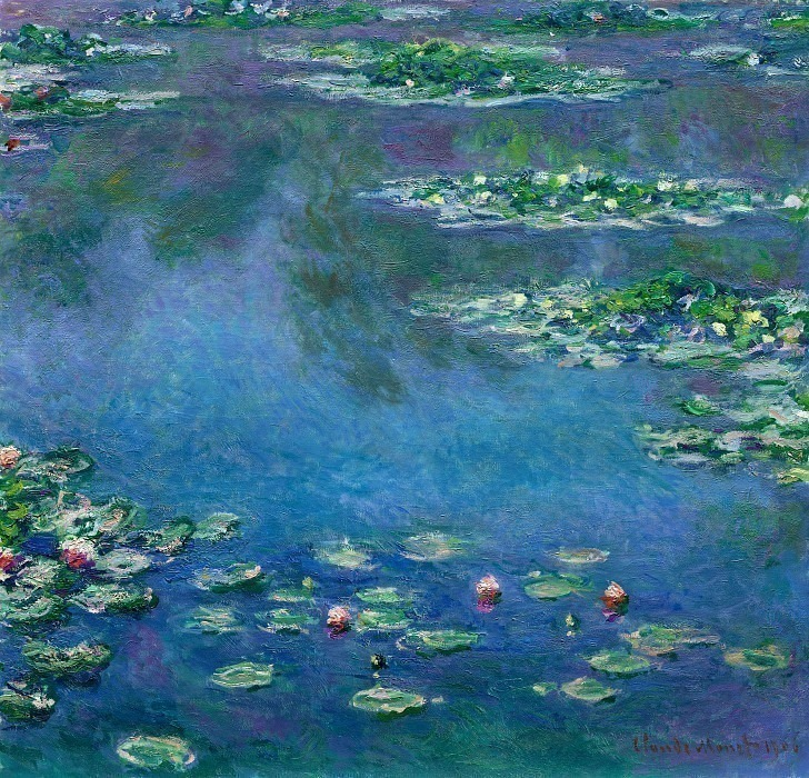 Water Lilies, 1906 03. Claude Oscar Monet