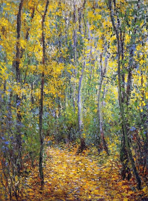 Wood Lane. Claude Oscar Monet