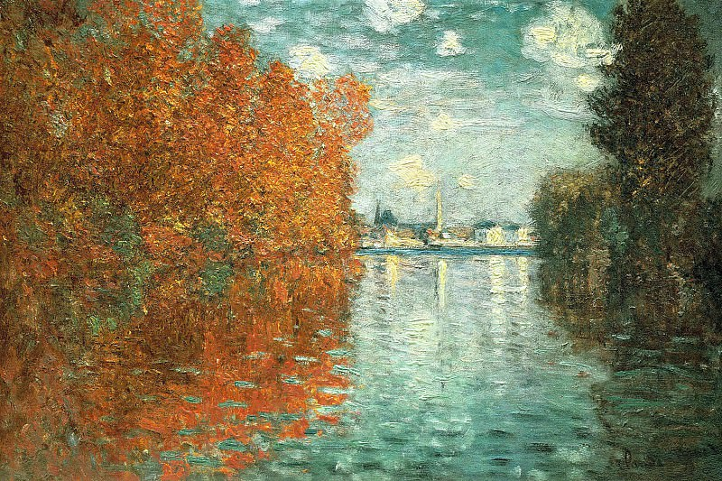 Autumn Effect at Argenteuil. Claude Oscar Monet