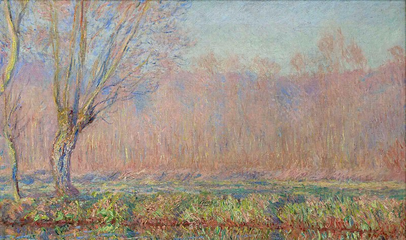 The Willows. Claude Oscar Monet