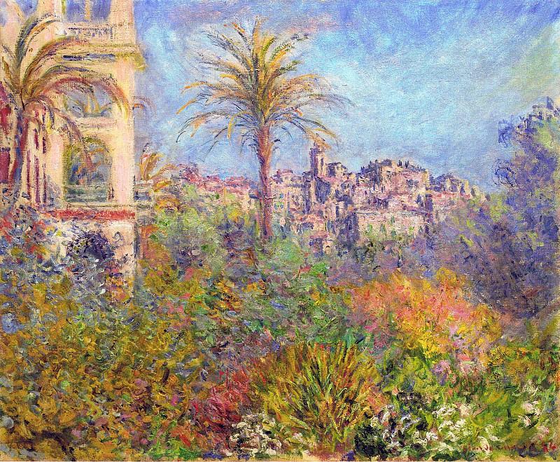 Villas at Bordighera 03. Claude Oscar Monet
