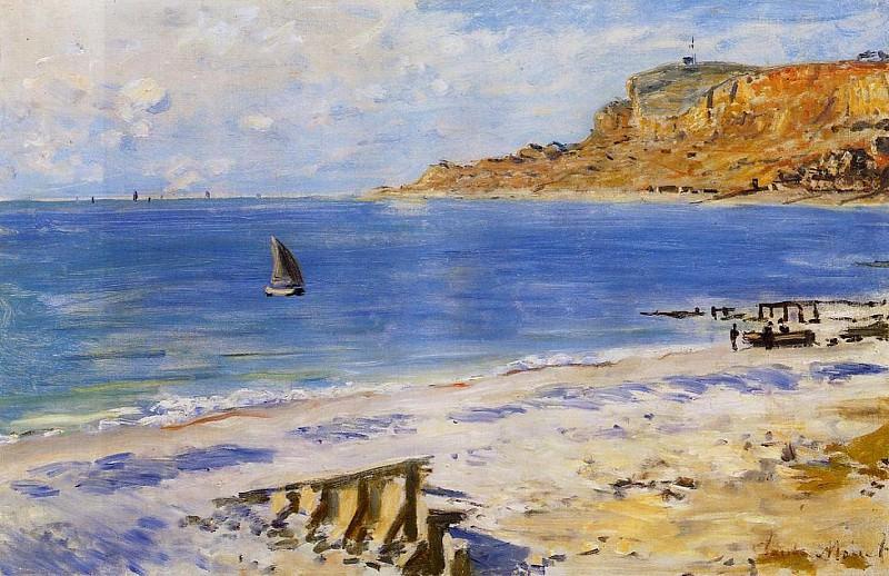 Sailing At Sainte Adresse. Claude Oscar Monet