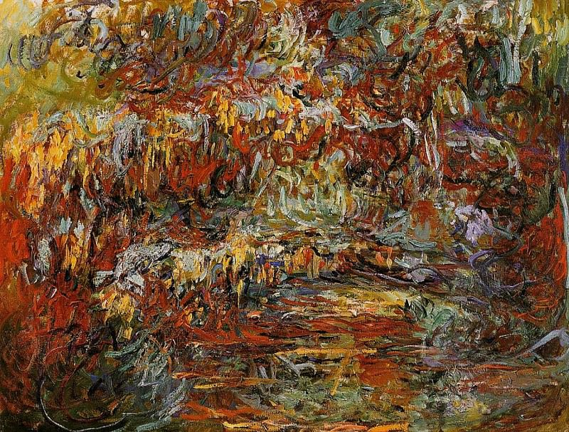 The Japanese Bridge 8. Claude Oscar Monet