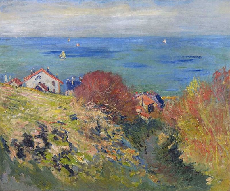Pourville. Claude Oscar Monet