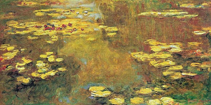 Water Lilies, 1919 04. Claude Oscar Monet