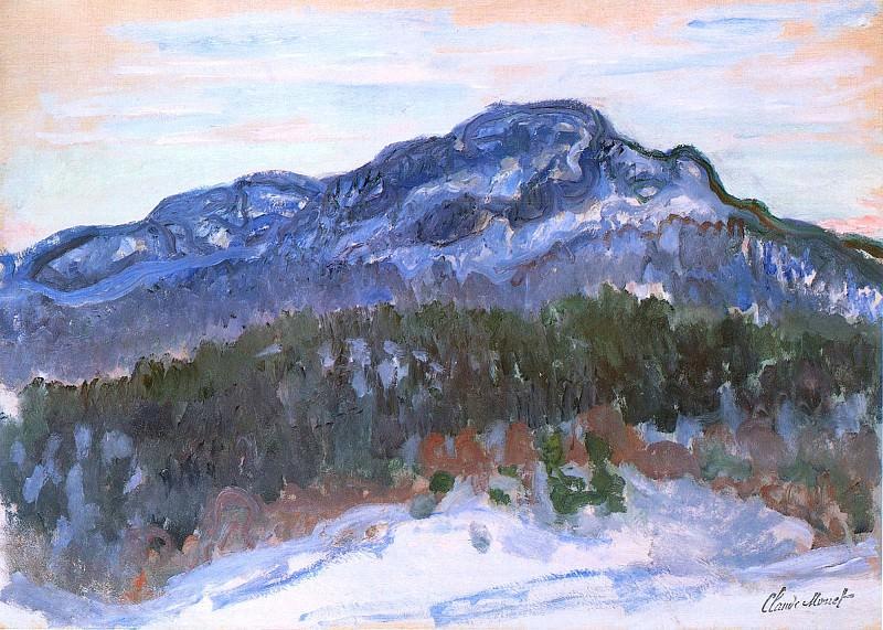 Mount Kolsaas. Claude Oscar Monet