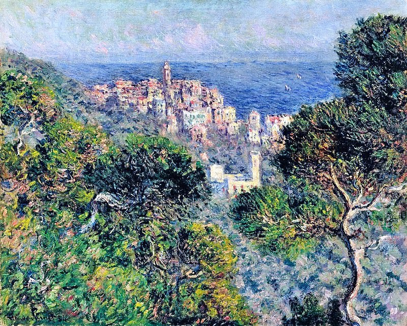 Bordighera, View. Claude Oscar Monet
